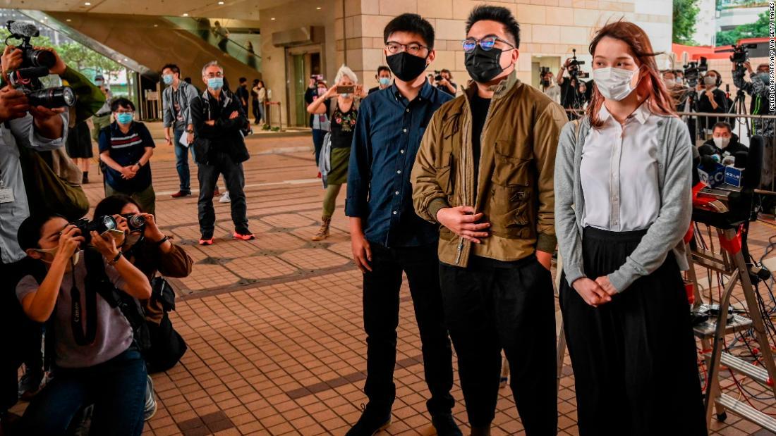 Hong Kong activist Joshua Wong facing prison after guilty plea over 2019 protest
