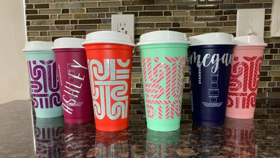SomethingFeisty Starbucks Holiday Color-Changing Cups