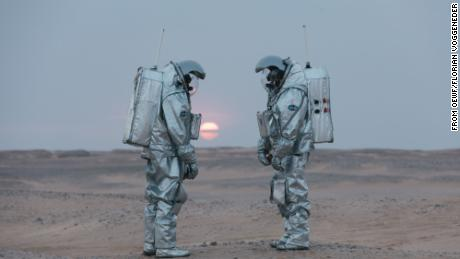 Astronauts on a Mars mission will need to be 'conscientious' to work well together