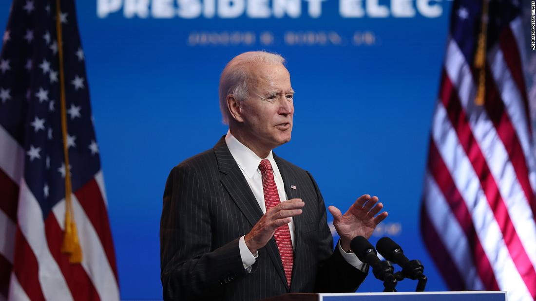 Biden's transition moves ahead