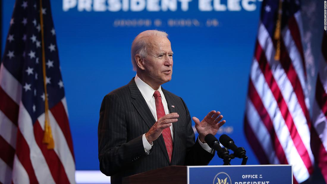 Biden says transition outreach from Trump administration has been 'sincere' – CNN