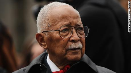 Former New York City Mayor David Dinkins has died. He was 93.