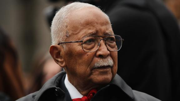"""<a href=""""https://www.cnn.com/2020/11/24/us/david-dinkins-new-york-city-mayor-dies/index.html"""" target=""""_blank"""">David Dinkins</a>, the first and, to date, only Black mayor of New York City, died November 23 at the age of 93. Dinkins dedicated much of his public life trying to improve race relations in the nation's largest city."""