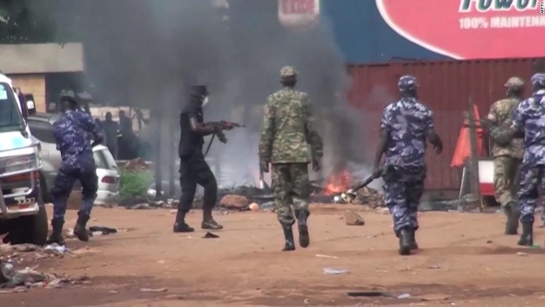 Videos appear to show Ugandan soldiers firing into crowded slums