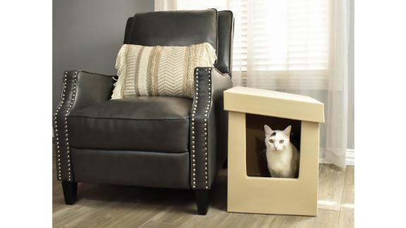 جعبه بستر گربه ای Catangle Slope Style Cat ، XL