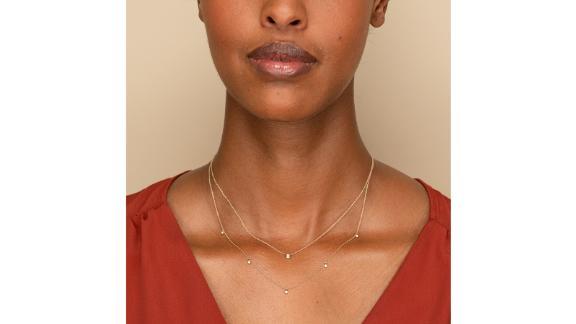 گردنبند الماس Mejuri