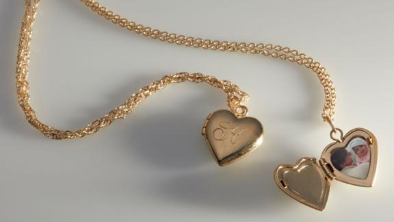 جیب قلب عروسکی در طلا