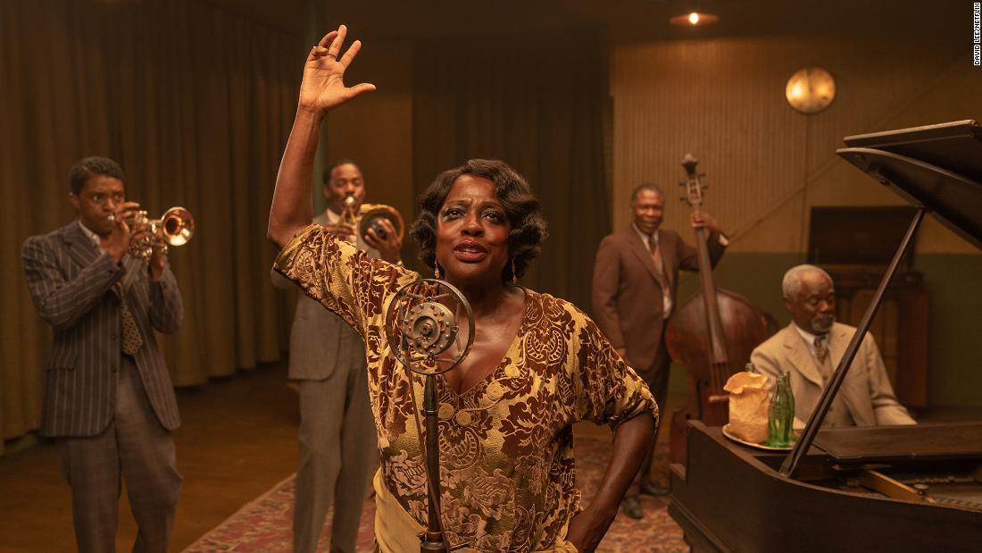 "<strong>Best makeup and hairstyling:</strong> ""Ma Rainey's Black Bottom"""