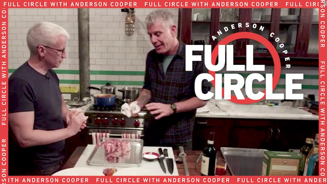 Cooper reflects on cooking 'Sunday Gravy' with Anthony Bourdain