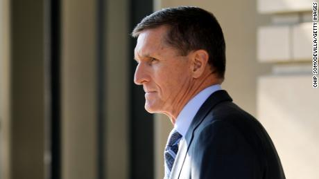 WASHINGTON, DC - DECEMBER 01: Michael Flynn, former national security advisor to President Donald Trump, leaves following his plea hearing at the Prettyman Federal Courthouse December 1, 2017 in Washington, DC. Special Counsel Robert Mueller charged Flynn with one count of making a false statement to the FBI. (Photo by Chip Somodevilla/Getty Images)