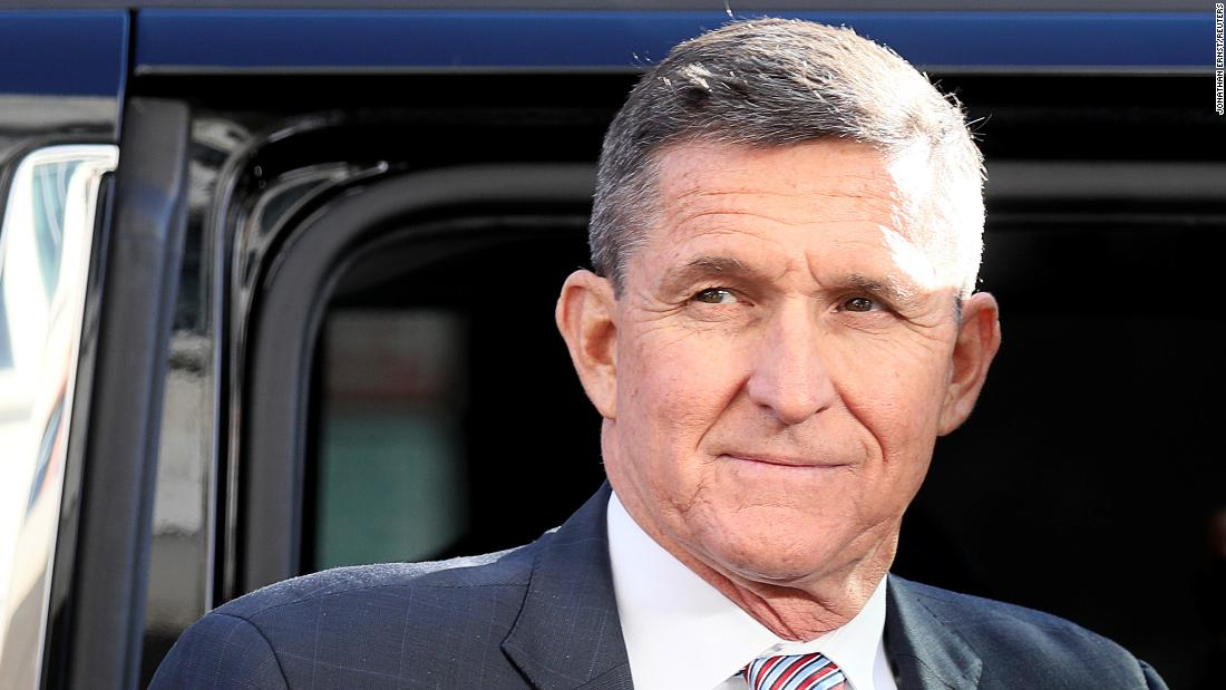Trump announces a pardon for Michael Flynn in tweet