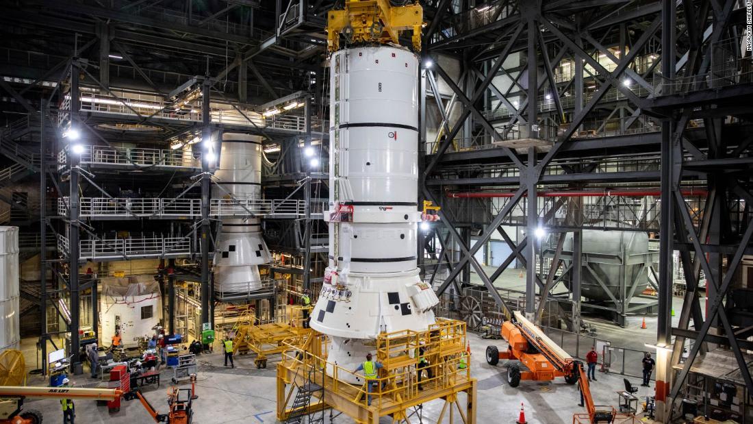 NASA begins assembling the rocket for Artemis moon mission - CNN