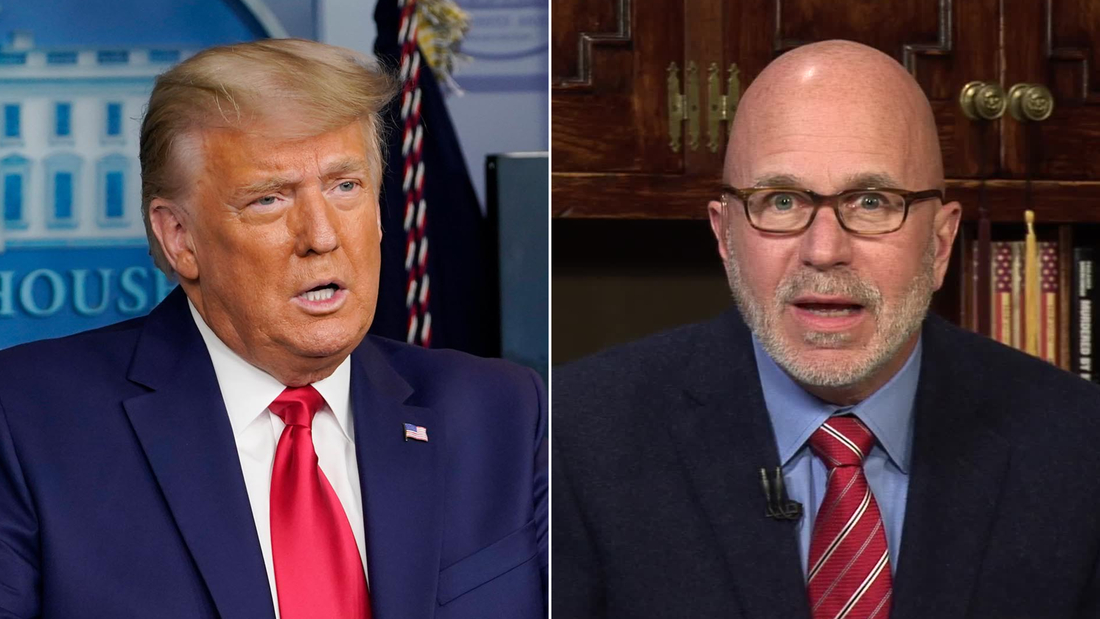 Hear Smerconish's theory behind Trump's 64-second briefing