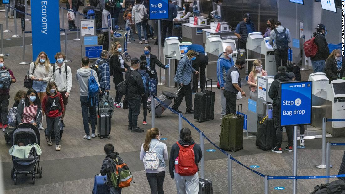 Thanksgiving week air travel is expected to set a pandemic-era record despite officials' calls to stay home