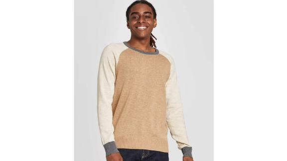 Goodfellow & Co Men's Colorblock Regular Fit Crew Neck Sweater
