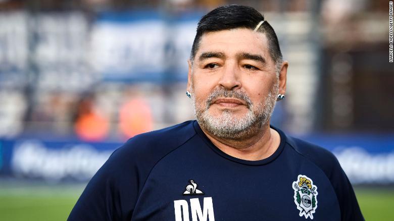 Diego Maradona dies aged 60