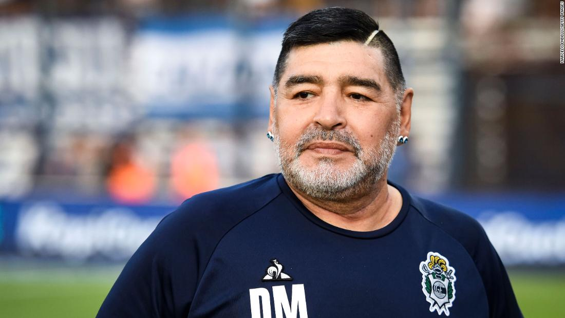 Argentine authorities raid the home and office of Maradona's psychiatrist