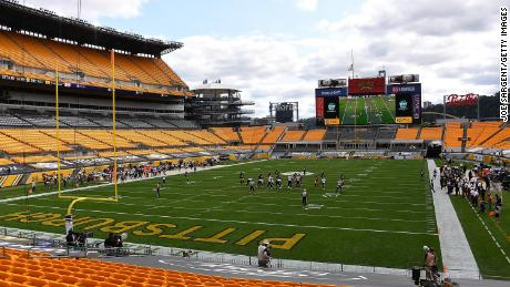 Thursday night's game between the Baltimore Ravens and Pittsburgh Steelers has been postponed to Sunday afternoon.