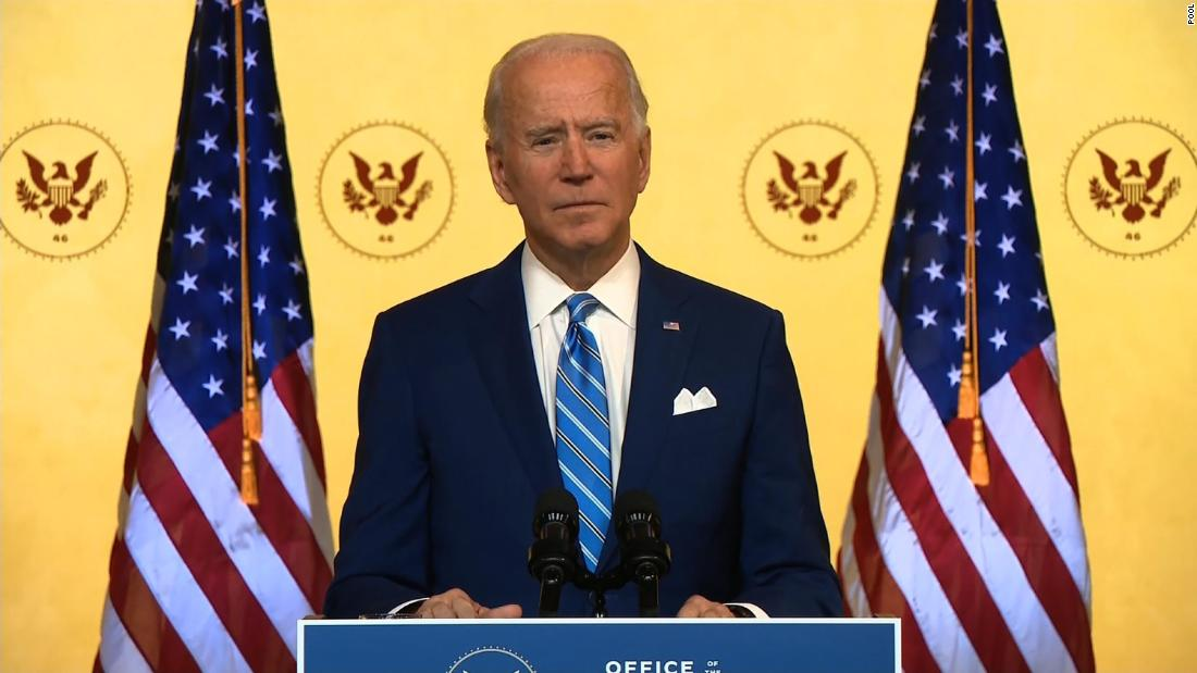 Hear Biden's message to those who've lost loved ones