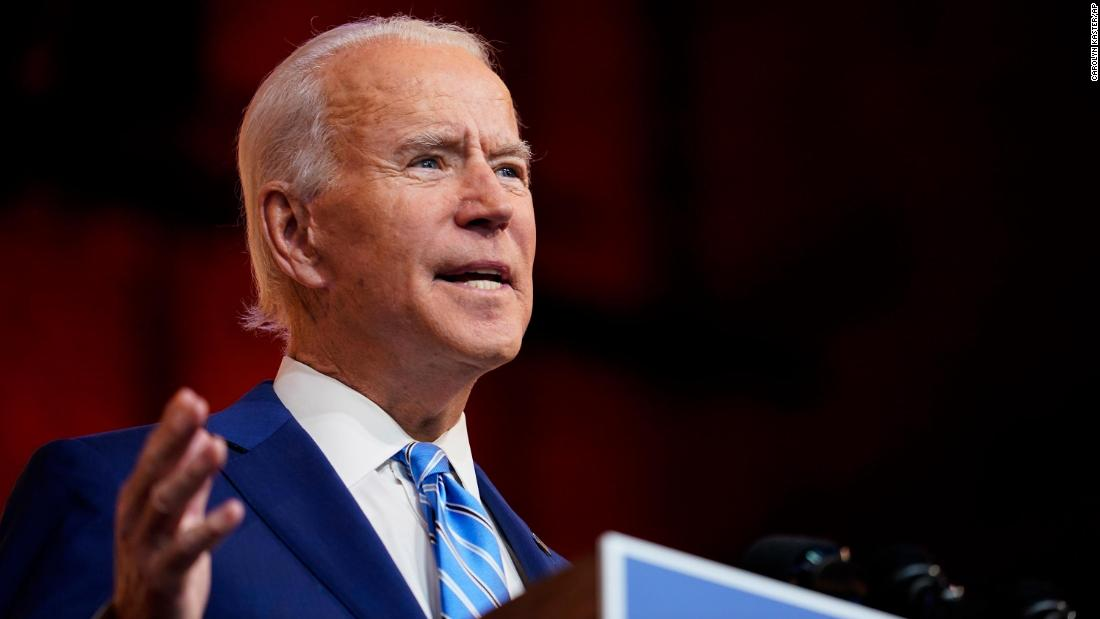Biden readies major stimulus push and flurry of executive actions in first 100 days – CNN