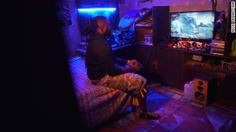 Diang'a, one of Kenya's most popular gamers, is working to promote esports in his local community.