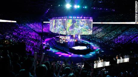 Esports is a billion-dollar industry that attracts legions of fans, such as the ones who attended this 2019 tournament in Paris.