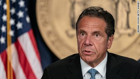 "Gov. Andrew Cuomo says SCOTUS ruling on coronavirus restrictions is essentially a statement that ""it's a different court."""