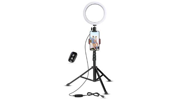 Ubeesize Cell Phone Ring Lights and Tripods