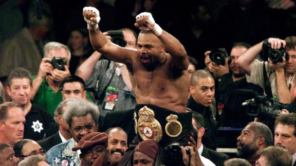 Roy Jones Jr. wins a unanimous twelve-round decision against John Ruiz to claim the WBA Heavyweight title, becoming the first Light Heavyweight to do so since 1897.