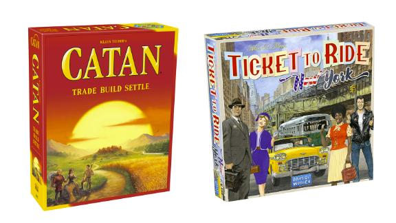 Games from Catan, Days of Wonder and more