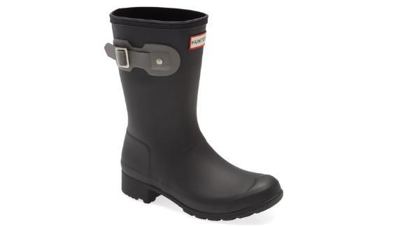 Hunter Original Tour Short Packable Rain Boot