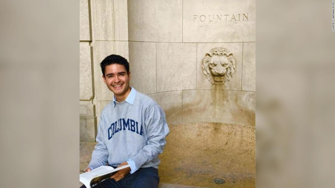 This student just became the first Latino DACA recipient to win the Rhodes Scholarship. He says it's all because of his elementary school teacher
