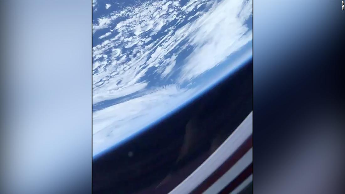 Here's how Earth looked to astronauts aboard the SpaceX capsule