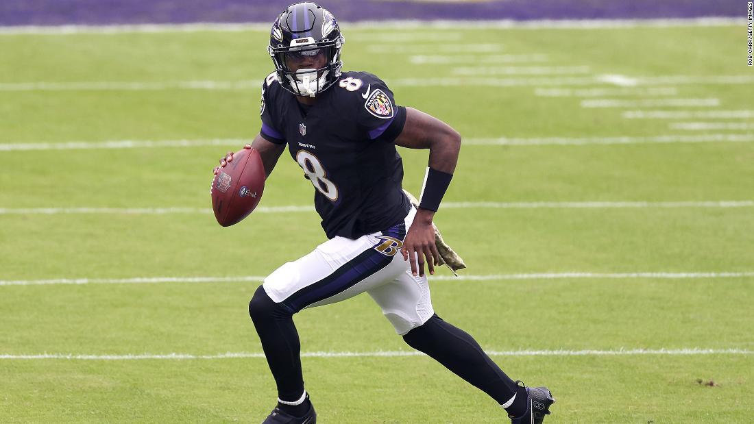 NFL quarterback Lamar Jackson tests positive for Covid