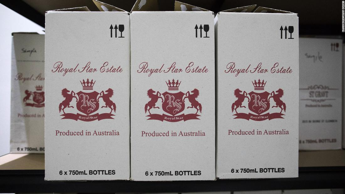 China slaps duties of up to 212% on Australian wine imports – CNN