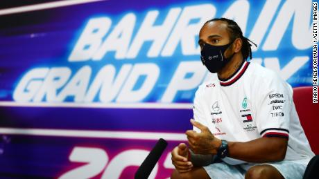 Hamilton was speaking at the Drivers Press Conference on Thursday.