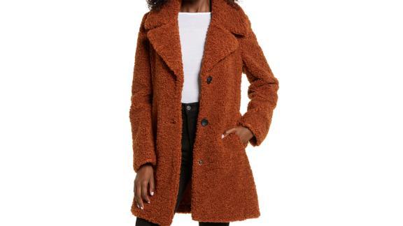 Sam Edelman Faux Fur Teddy Coat