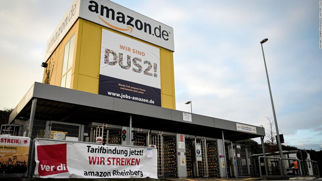 Amazon spends another $500 million on bonuses. Some of its workers are still going on strike