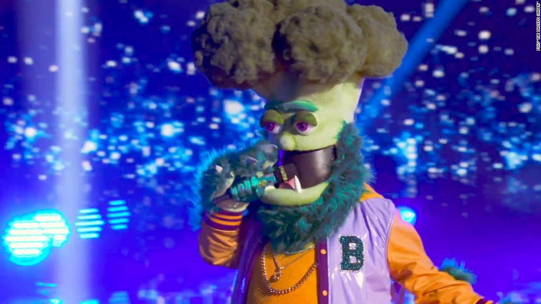 'The Masked Singer' reveals the legend behind Broccoli  image