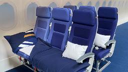 Lufthansa trialing lie-flat Economy seat concept