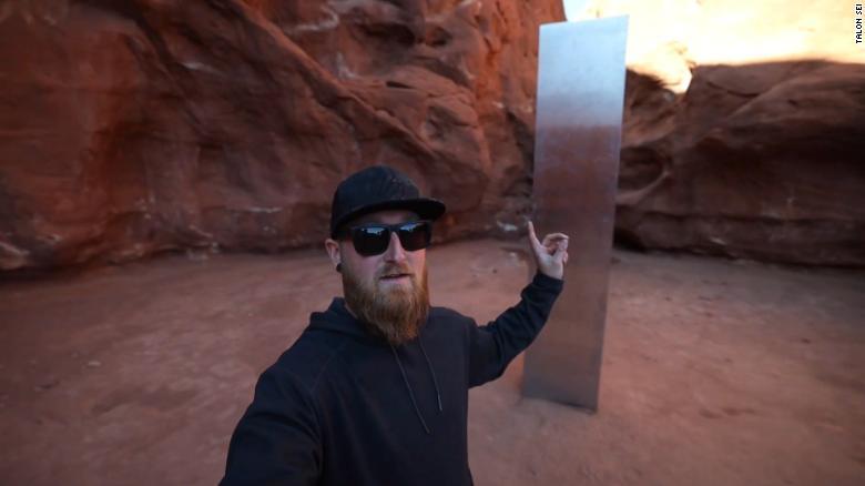 'We found it!': Adventurers track down that Utah monolith