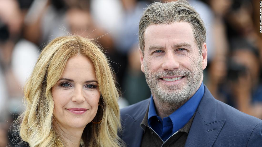 John Travolta pays Mother's Day tribute to Kelly Preston