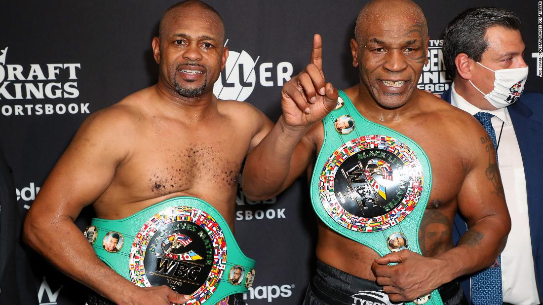 Mike Tyson's boxing comeback ends in draw