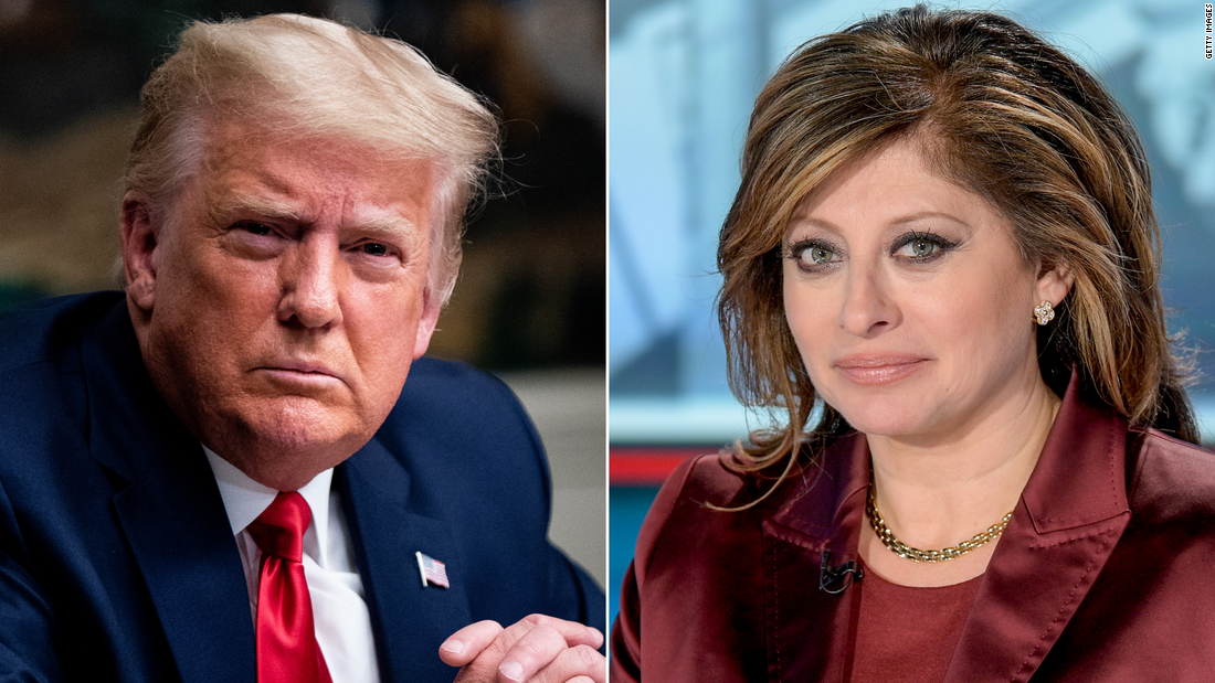 Fox News' Maria Bartiromo gave Trump his first TV interview since the election. It was filled with lies – CNN