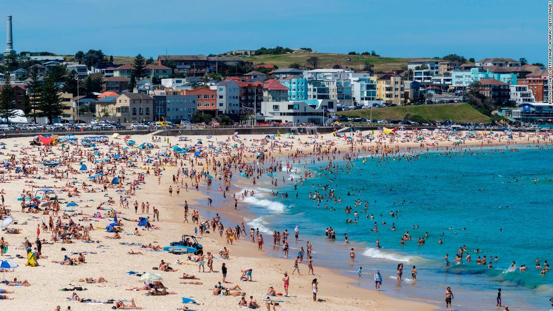 Severe fire danger for Australia as temperatures smash records
