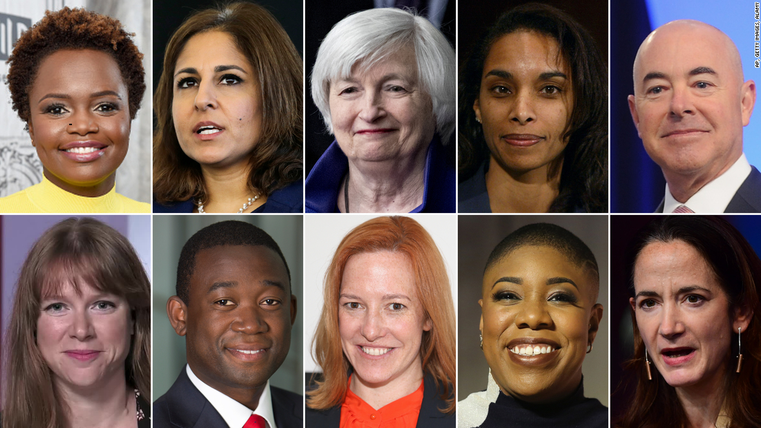 Biden moves quickly to build a diverse administration