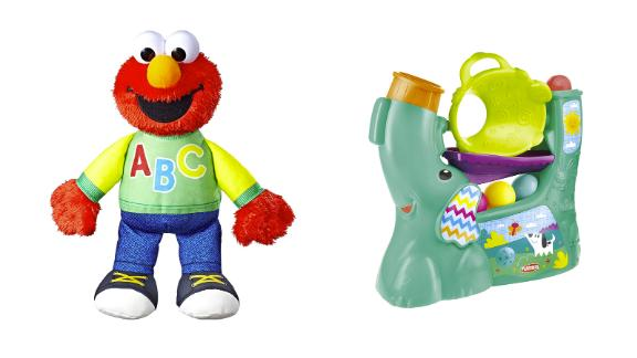 Toys from Playskool, Sesame Street and more