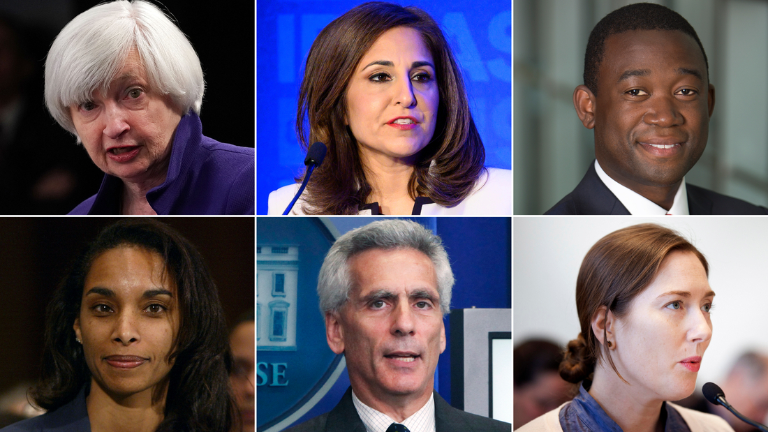 Biden names diverse economic team