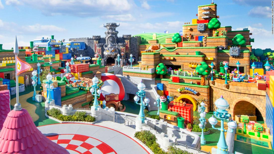 Super Nintendo World is opening at Universal Studios Japan in February. Here's a sneak peek - CNN