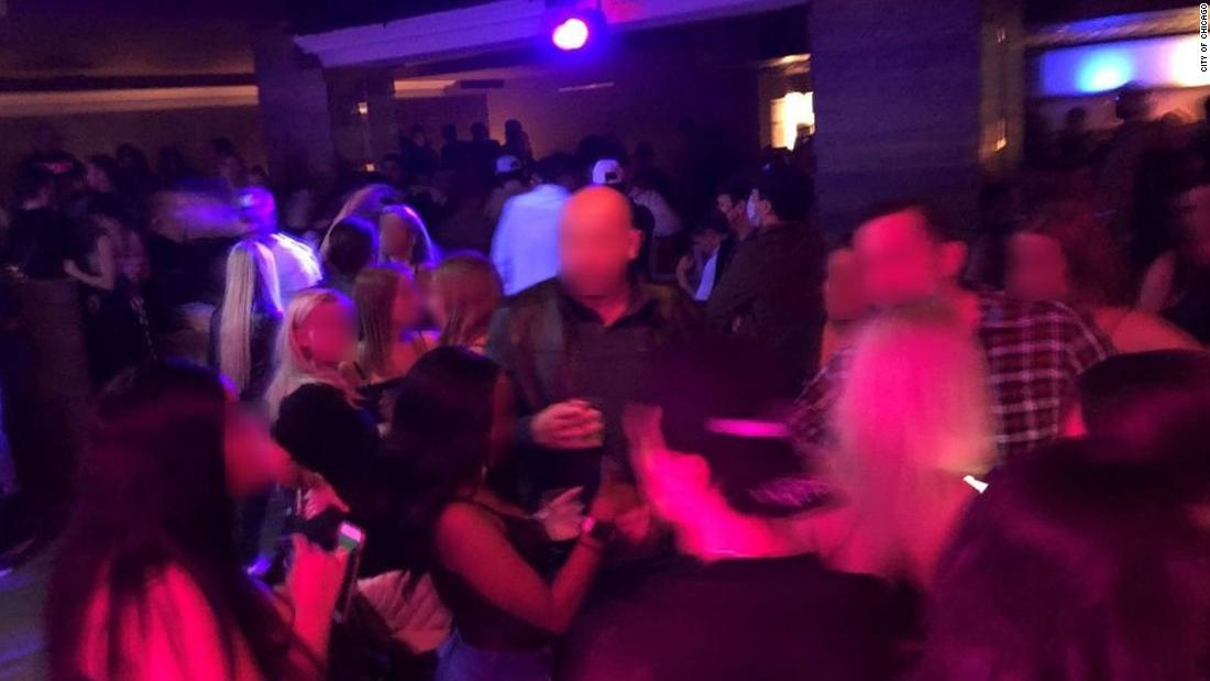 Chicago officials shut down a 300-person party for violating coronavirus restrictions - CNN